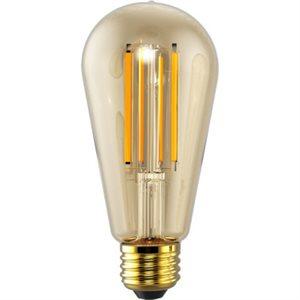 Ampoule DEL filamenté format ST19, 5 watts, 2200K, 320 degrés