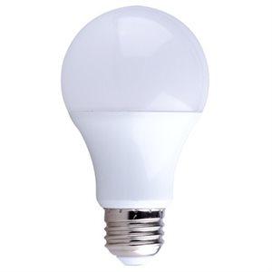 Ampoule DEL format A19, 6 watts, 3000K, 240 degrés