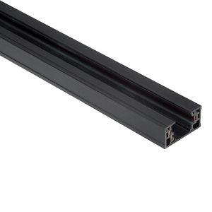 Rail de 8 pieds, finition noire