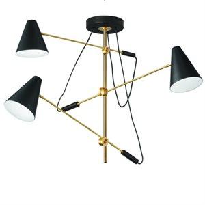 Luminaire suspendu, 3 X culot E12