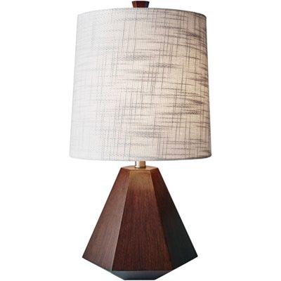 Lampe de table, finition noisette, 1 X A19