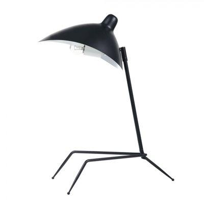 Lampe de table, finition noir mat, 1 X A19