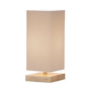 Lampe de table, finition naturel, 1 X A19