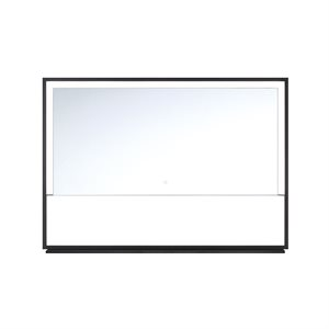 LED mirror with integrated shelf, 33 watts, 2700 to 6500K
