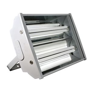 Luminaire pour plafond haut, 2 pieds, fluorescent, 2 X 36 watts