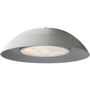 Luminaire pour plafond haut DEL, finition blanche, 150 watts, 4000K