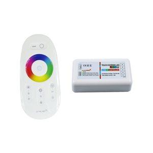 Contrôleur intérieur BRVB avec télécommande tactile, finition blanche