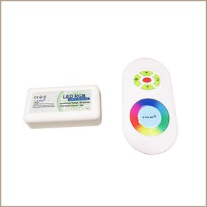 RGB interior controller with touch-sensitive remote control, 216 watts