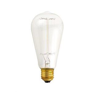 Ampoule incadescente, format ST64, 60 watts