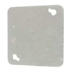 "4"" square lid - plain"