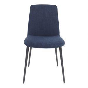 Chaise, finition bleue