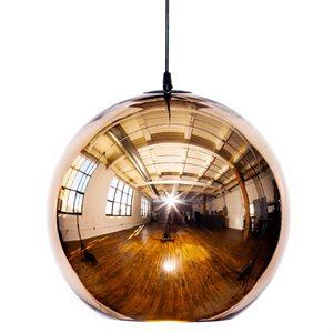 Luminaire suspendu, finition or, 1 X E26