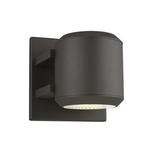 Luminaire mural, DEL, finition charcoal 10,4 watts, 3000K