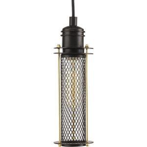 Luminaire suspendu, finition graphite, 1 X A19