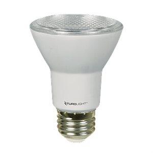 Bulb, PAR20 style, 7 watts, 3000K, 40 degrés