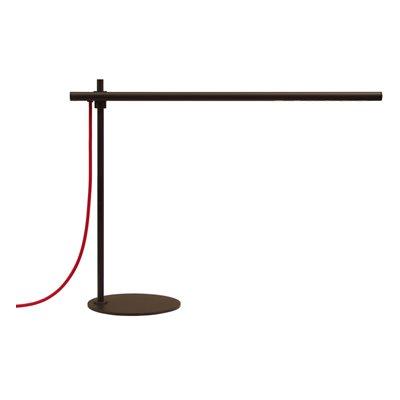 Lampe de table DEL, finition noir mat, 6 watts, 3000K