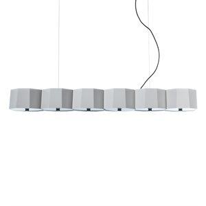Luminaire suspendu, 6 X A19