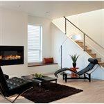 Lampe de plancher, finition chrome poli et noir mat, 1 X A19