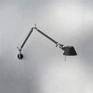 Lampe de lecture, finition noire, 1 X A19
