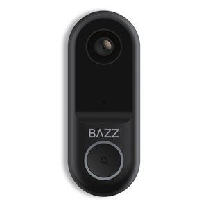 Smart WiFi doorbell with 1080p HD camera